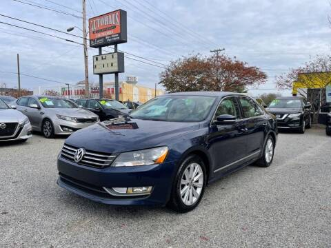 2013 Volkswagen Passat for sale at Autohaus of Greensboro in Greensboro NC
