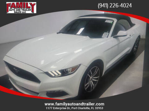 2016 Ford Mustang for sale at Family Auto and Trailer Sales LLC in Port Charlotte FL
