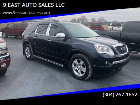 2012 GMC Acadia for sale at 9 EAST AUTO SALES LLC in Martinsburg WV