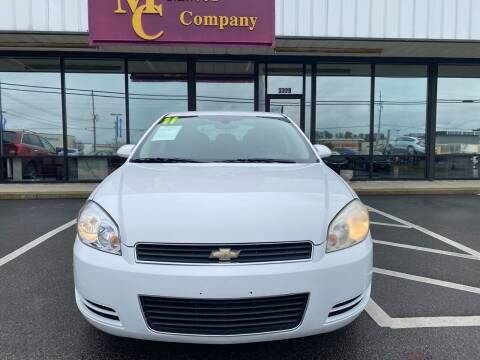 2011 Chevrolet Impala for sale at Greenville Motor Company in Greenville NC