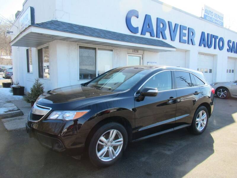 2013 Acura RDX for sale at Carver Auto Sales in Saint Paul MN