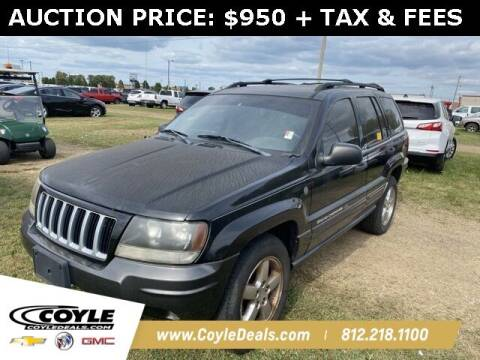 2004 Jeep Grand Cherokee for sale at COYLE GM - COYLE NISSAN in Clarksville IN
