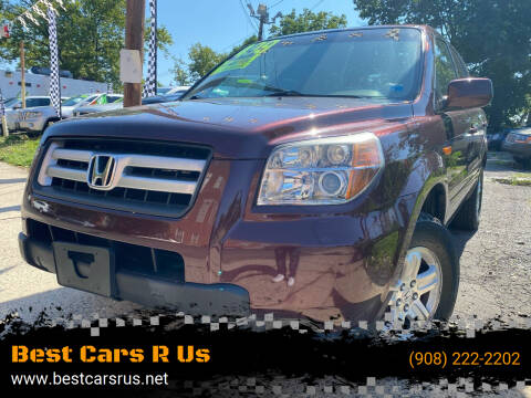 2008 Honda Pilot for sale at Best Cars R Us in Plainfield NJ