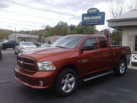 2013 RAM Ram Pickup 1500 for sale at Route 106 Motors in East Bridgewater MA