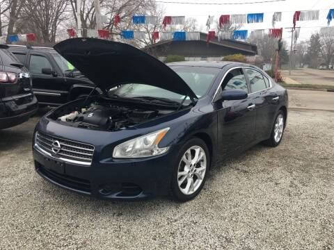 2010 Nissan Maxima for sale at Antique Motors in Plymouth IN