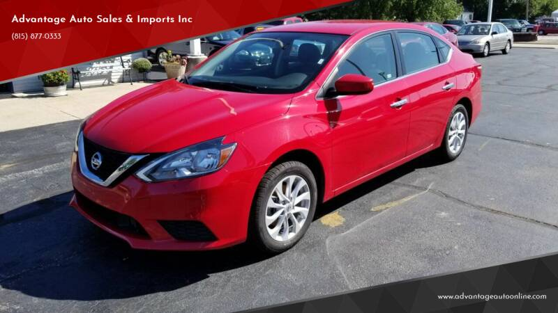 2018 Nissan Sentra for sale at Advantage Auto Sales & Imports Inc in Loves Park IL