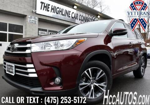 2018 Toyota Highlander for sale at The Highline Car Connection in Waterbury CT