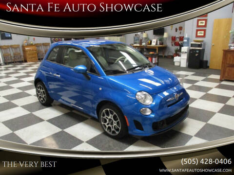 2018 FIAT 500 for sale at Santa Fe Auto Showcase in Santa Fe NM