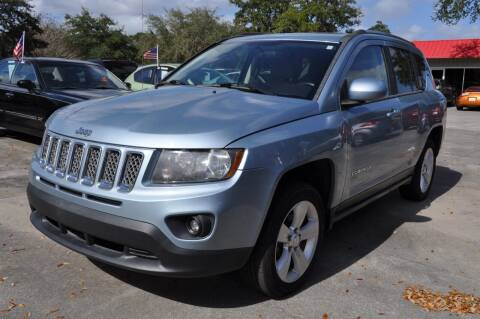 2014 Jeep Compass for sale at STEPANEK'S AUTO SALES & SERVICE INC. in Vero Beach FL
