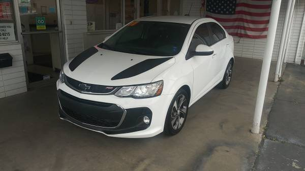 2017 Chevrolet Sonic for sale at Speciality Auto Sales in Oakdale CA