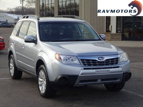 2012 Subaru Forester for sale at RAVMOTORS 2 in Crystal MN