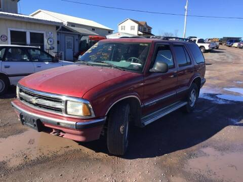 1996 Chevrolet Blazer for sale at Troys Auto Sales in Dornsife PA