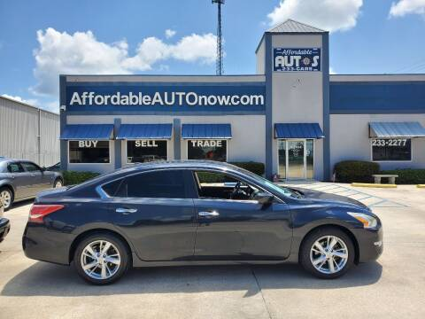 2013 Nissan Altima for sale at Affordable Autos in Houma LA