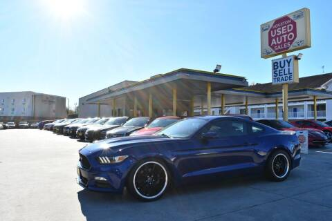 2015 Ford Mustang for sale at Houston Used Auto Sales in Houston TX