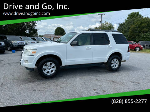 2010 Ford Explorer for sale at Drive and Go, Inc. in Hickory NC