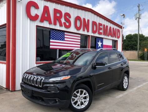 2016 Jeep Cherokee for sale at Cars On Demand 3 in Pasadena TX