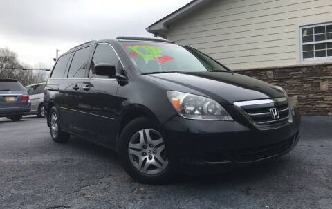 2007 Honda Odyssey for sale at No Full Coverage Auto Sales in Austell GA