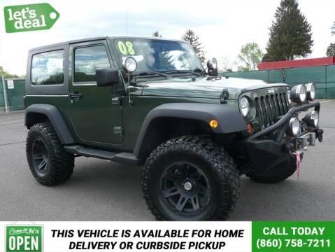2008 Jeep Wrangler for sale at Shamrock Motors in East Windsor CT