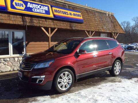 2015 Chevrolet Traverse for sale at MOTORS N MORE in Brainerd MN