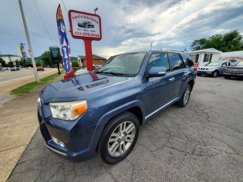 2010 Toyota 4Runner for sale at Ford's Auto Sales in Kingsport TN