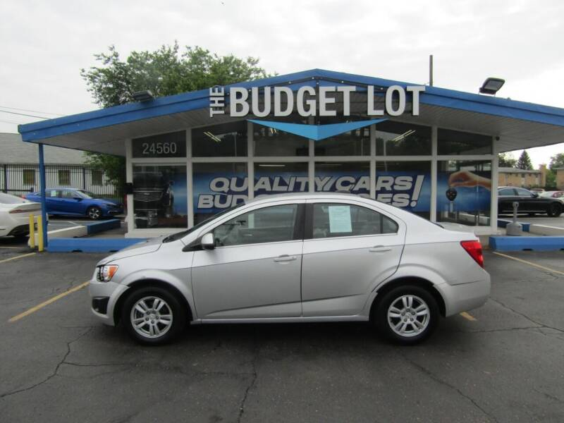 2015 Chevrolet Sonic for sale at THE BUDGET LOT in Detroit MI