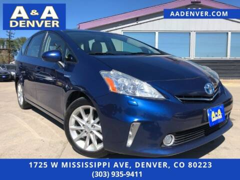 2013 Toyota Prius v for sale at A & A AUTO LLC in Denver CO