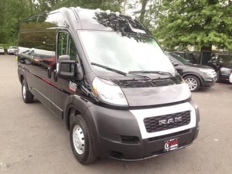 2021 RAM ProMaster Cargo for sale at EMG AUTO SALES in Avenel NJ