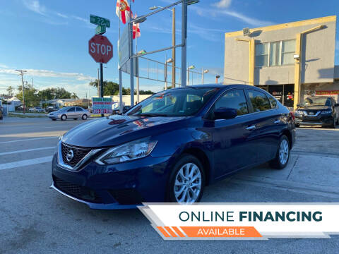 2019 Nissan Sentra for sale at Global Auto Sales USA in Miami FL