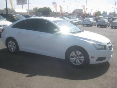 2014 Chevrolet Cruze for sale at Town and Country Motors - 1702 East Van Buren Street in Phoenix AZ