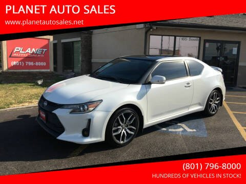 2016 Scion tC for sale at PLANET AUTO SALES in Lindon UT