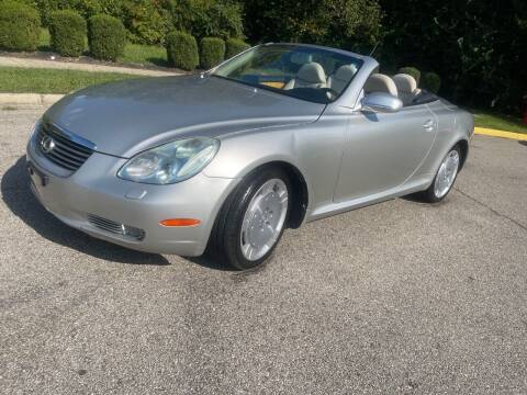 2003 Lexus SC 430 for sale at C&C Affordable Auto and Truck Sales in Tipp City OH