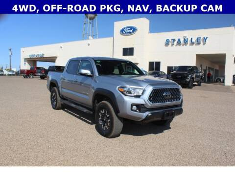 2018 Toyota Tacoma for sale at STANLEY FORD ANDREWS in Andrews TX