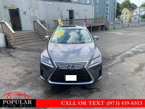 2016 Lexus RX 350 for sale at Popular Auto Mall Inc in Newark NJ
