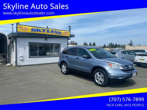 2011 Honda CR-V for sale at Skyline Auto Sales in Santa Rosa CA