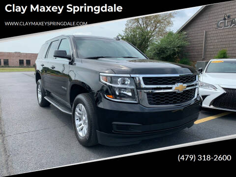 2020 Chevrolet Tahoe for sale at Clay Maxey Springdale in Springdale AR