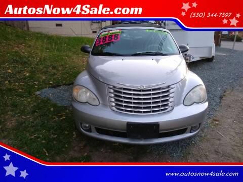 2006 Chrysler PT Cruiser for sale at AUCTION SERVICES OF CALIFORNIA in El Dorado CA