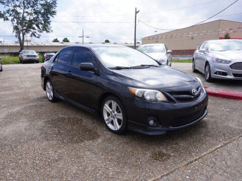 2013 Toyota Corolla for sale at BLUE RIBBON MOTORS in Baton Rouge LA