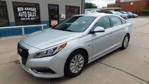 2016 Hyundai Sonata Hybrid for sale at Mid Kansas Auto Sales in Pratt KS