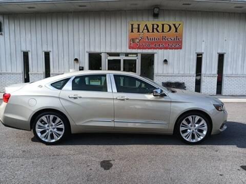 2015 Chevrolet Impala for sale at Hardy Auto Resales in Dallas GA