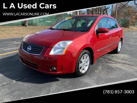 2011 Nissan Sentra for sale at L A Used Cars in Abington MA