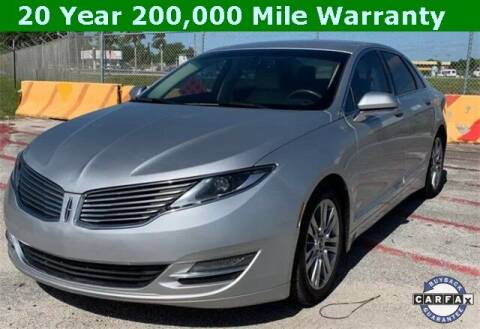 2014 Lincoln MKZ for sale at PHIL SMITH AUTOMOTIVE GROUP - Tallahassee Ford Lincoln in Tallahassee FL