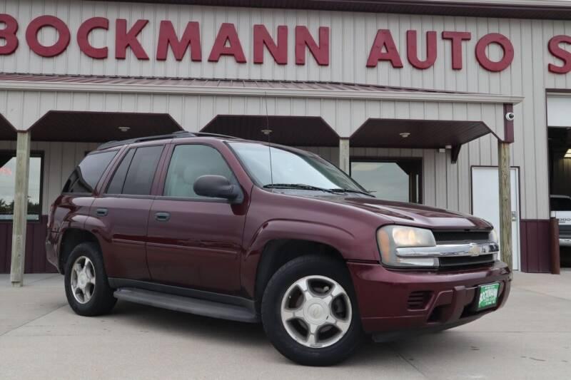 2007 Chevrolet TrailBlazer for sale at Bockmann Auto Sales in Saint Paul NE