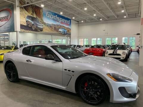 2012 Maserati GranTurismo for sale at Godspeed Motors in Charlotte NC