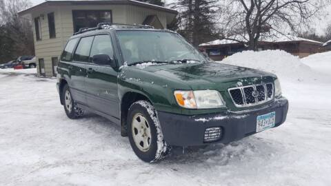 2002 Subaru Forester for sale at Shores Auto in Lakeland Shores MN