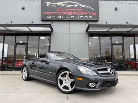 2009 Mercedes-Benz SL-Class for sale at Exotic Motorsports of Oklahoma in Edmond OK