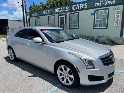 2014 Cadillac ATS for sale at Best Deals Cars Inc in Fort Myers FL