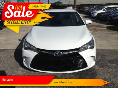 2016 Toyota Camry for sale at Ital Auto in Oklahoma City OK