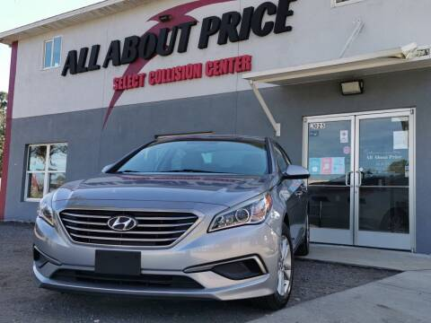 2016 Hyundai Sonata for sale at All About Price in Bunnell FL