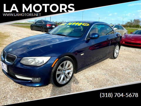 2013 BMW 3 Series for sale at LA MOTORS in Alexandria LA