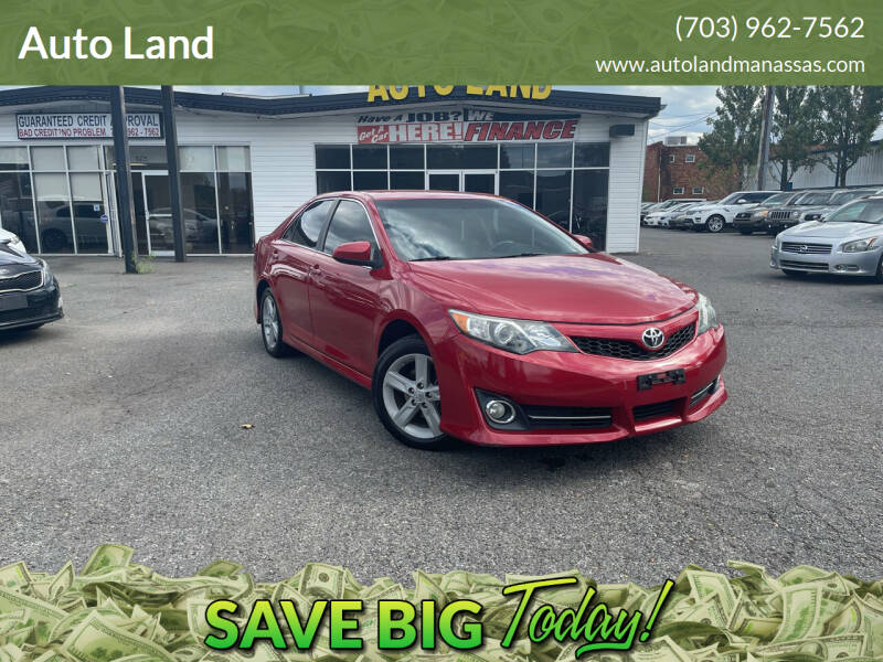 2013 Toyota Camry for sale at Auto Land in Manassas VA